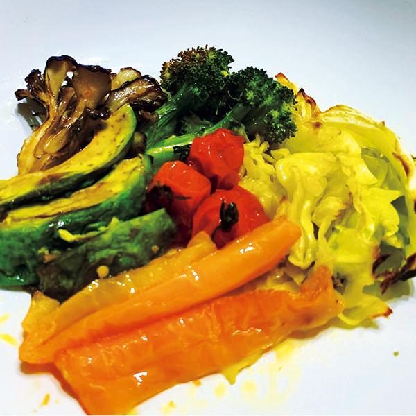 栄養を凝縮したグリル野菜