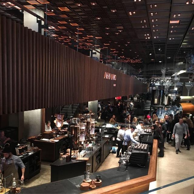 ニューヨークのスターバックス リザーブ ロースタリー☆Starbucks reserve roastery NYC_1_6