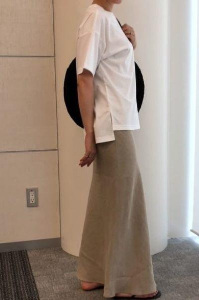 SACRA リネンスカート ¥29,700