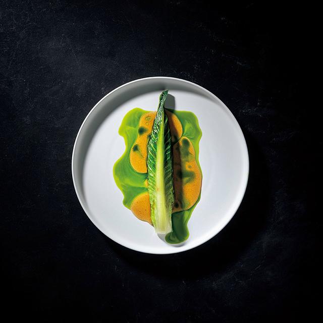 14 種ほどの野菜を用いた温かなひと皿