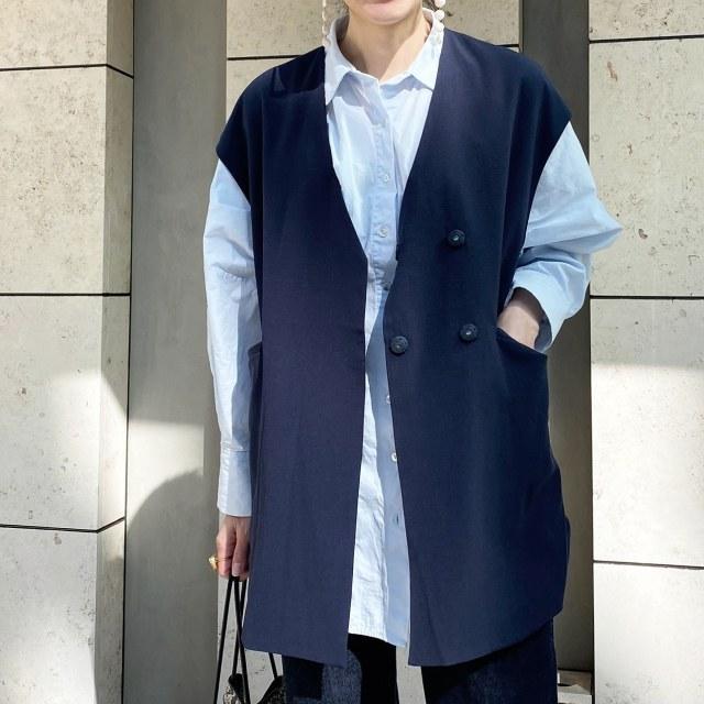 この春のHIT服「シャツ」をアラフォーはこう着る!最旬シャツコーデまとめ|40代ファッション_1_35