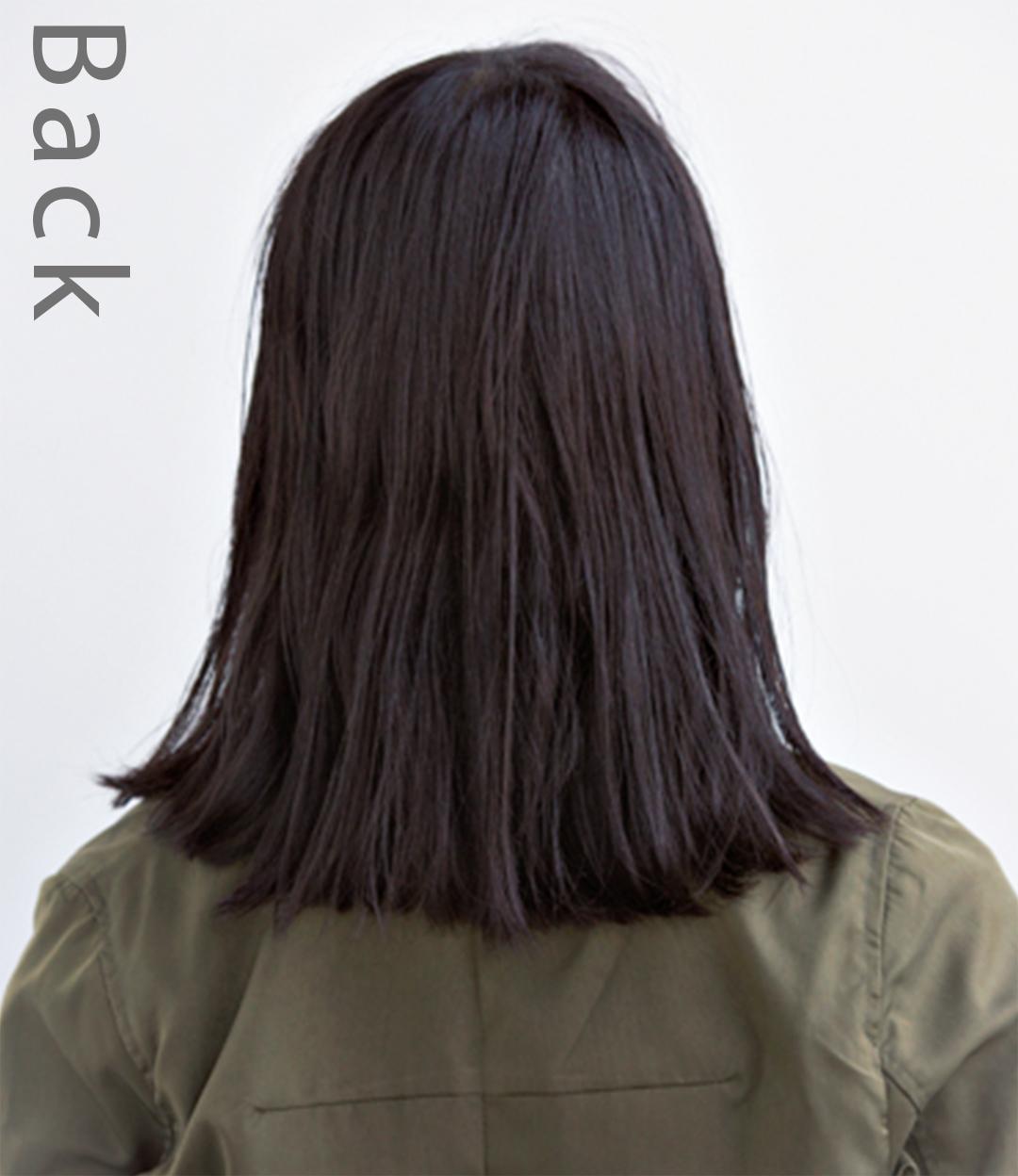 就活中、黒髪でも普段はおしゃれしたい人のために♡ 長さ別黒髪ヘアカタログ_1_4-2