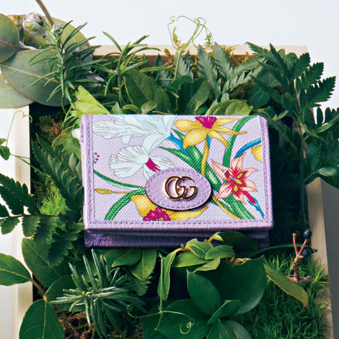 グッチの名作「フローラ」のミニ財布&バッグ、可愛さが止まらない!【20歳からの名品】_1_2-2