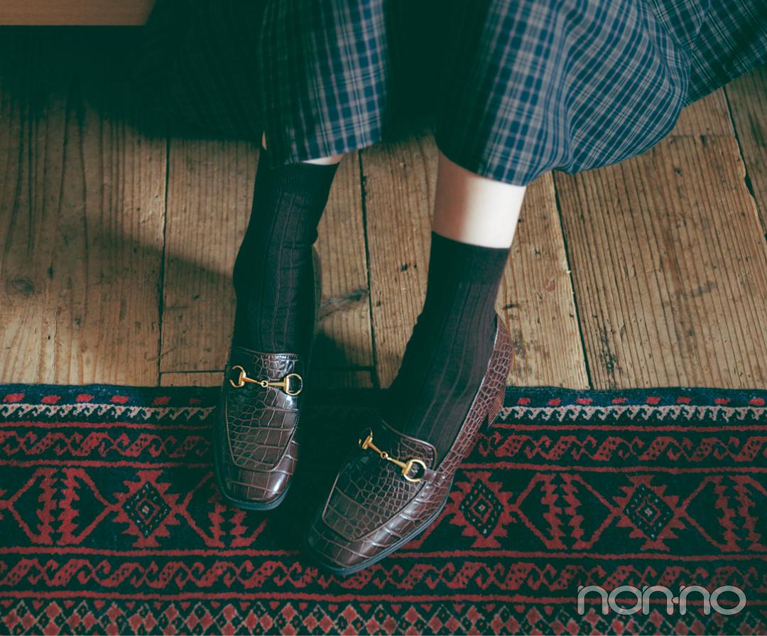 新木優子×新しいこと始まる秋服。「秋靴の本命デザインはコレ♡」_1_3