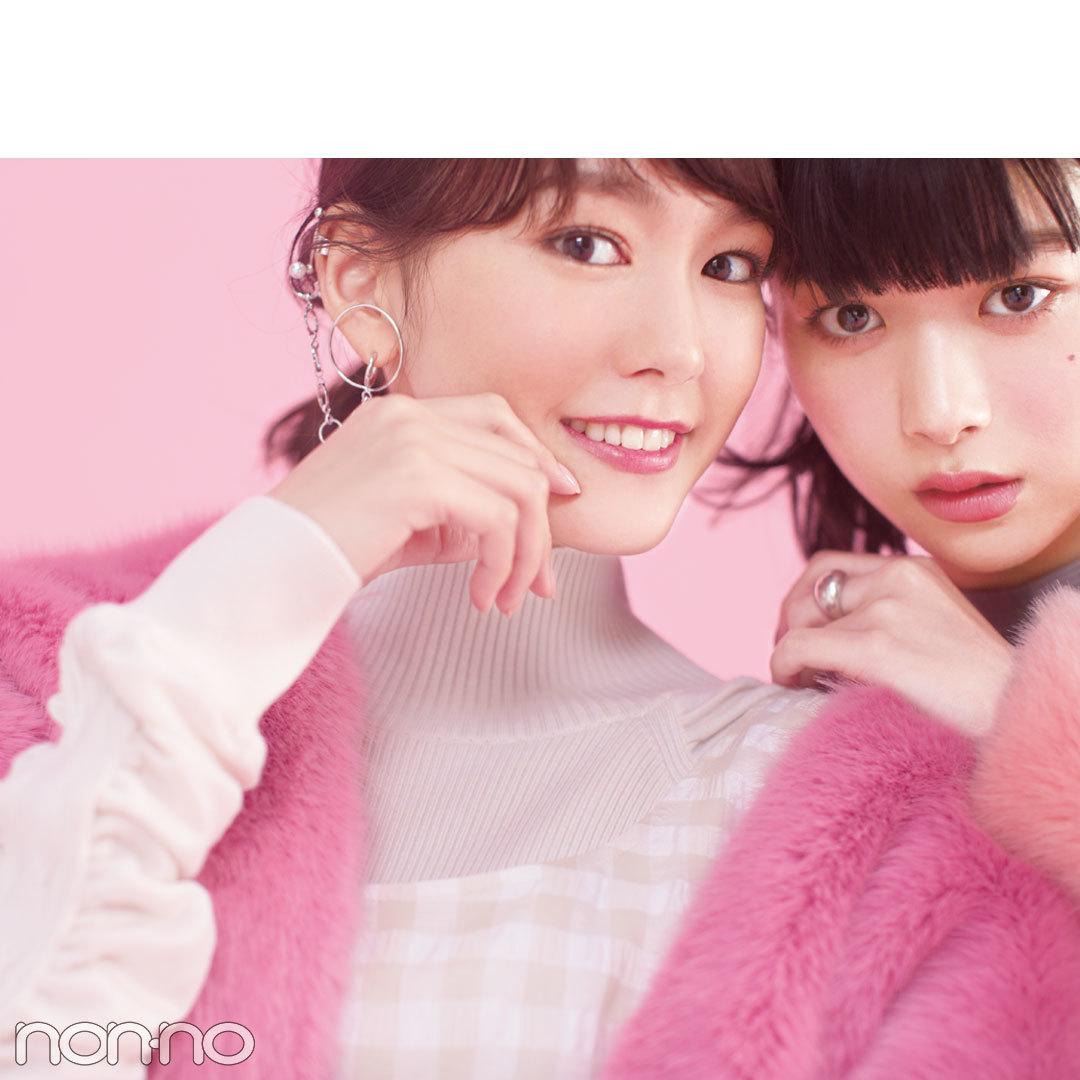 桐谷美玲と馬場ふみかのガールズトーク公開♡ 映画『リベンジgirl』で初共演!_1_3-2