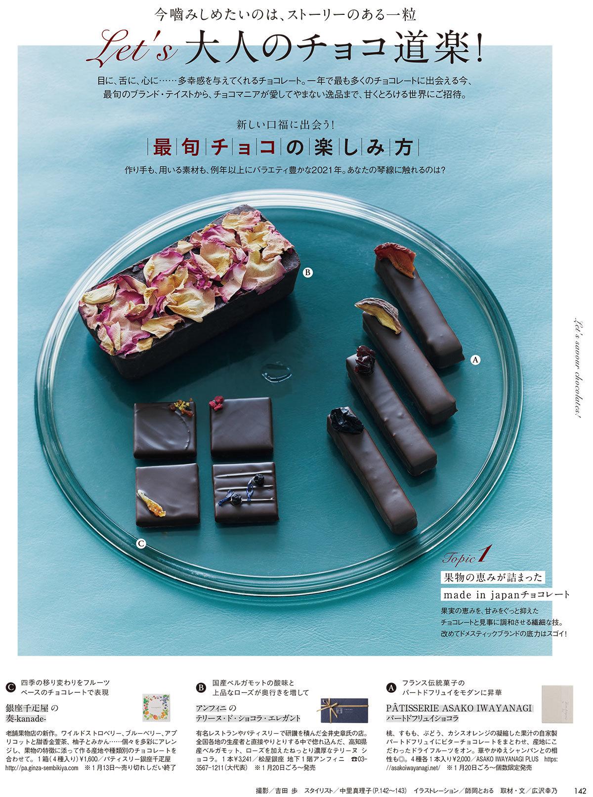Let's 大人のチョコ道楽!