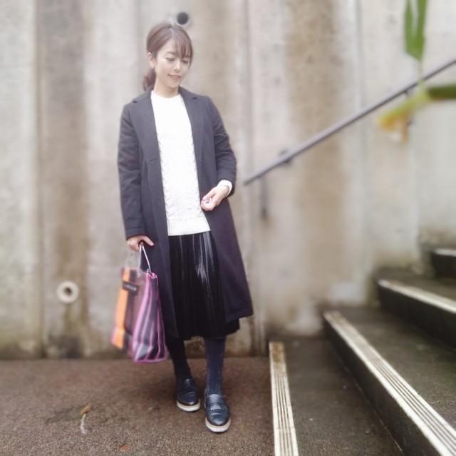 【MARNI FLOWER CAFE】大人気ストライプバッグ_1_3-2