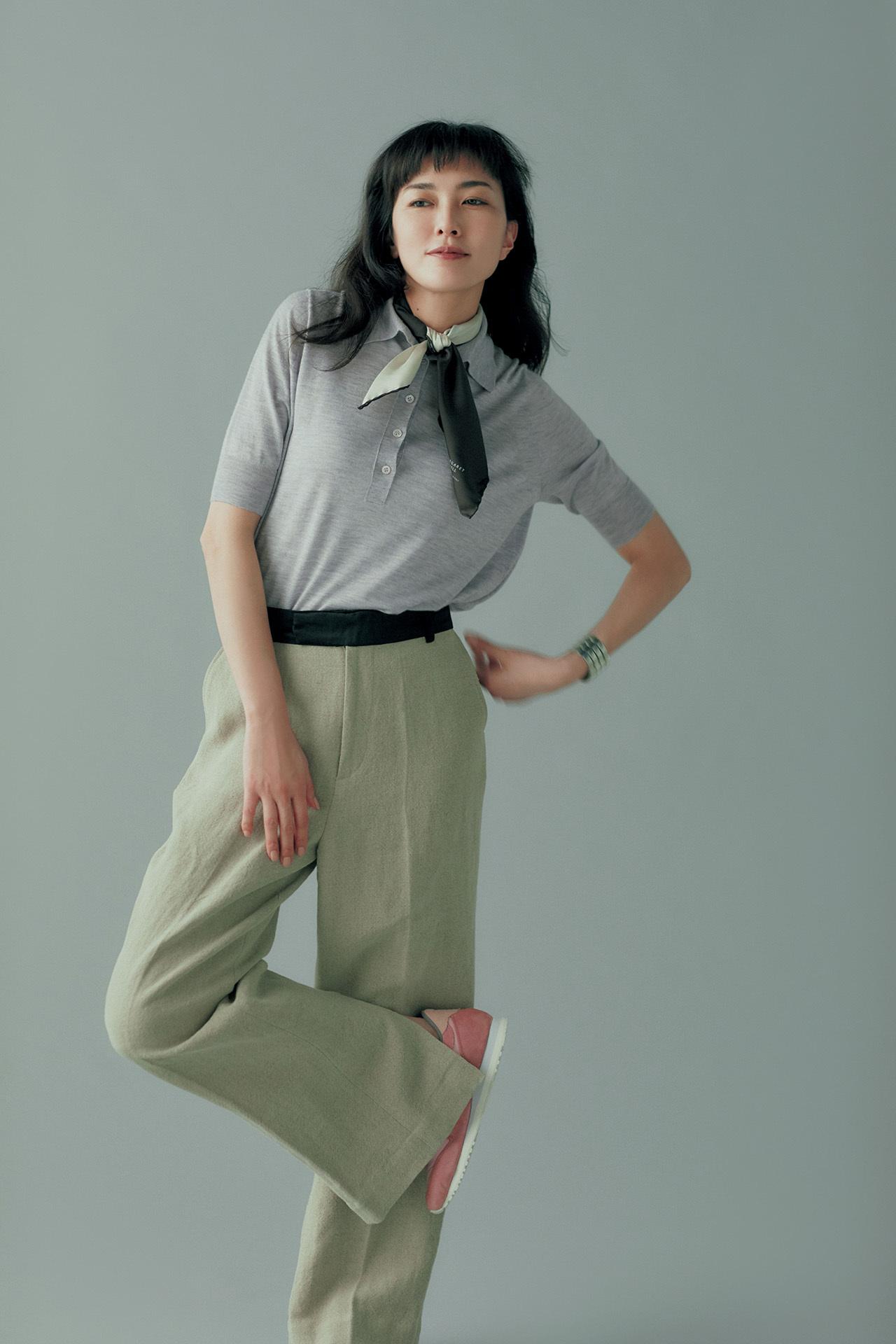 エブリデイ、パンツ派! 板谷由夏、最愛のパンツを春モードに更新 五選_1_1-5