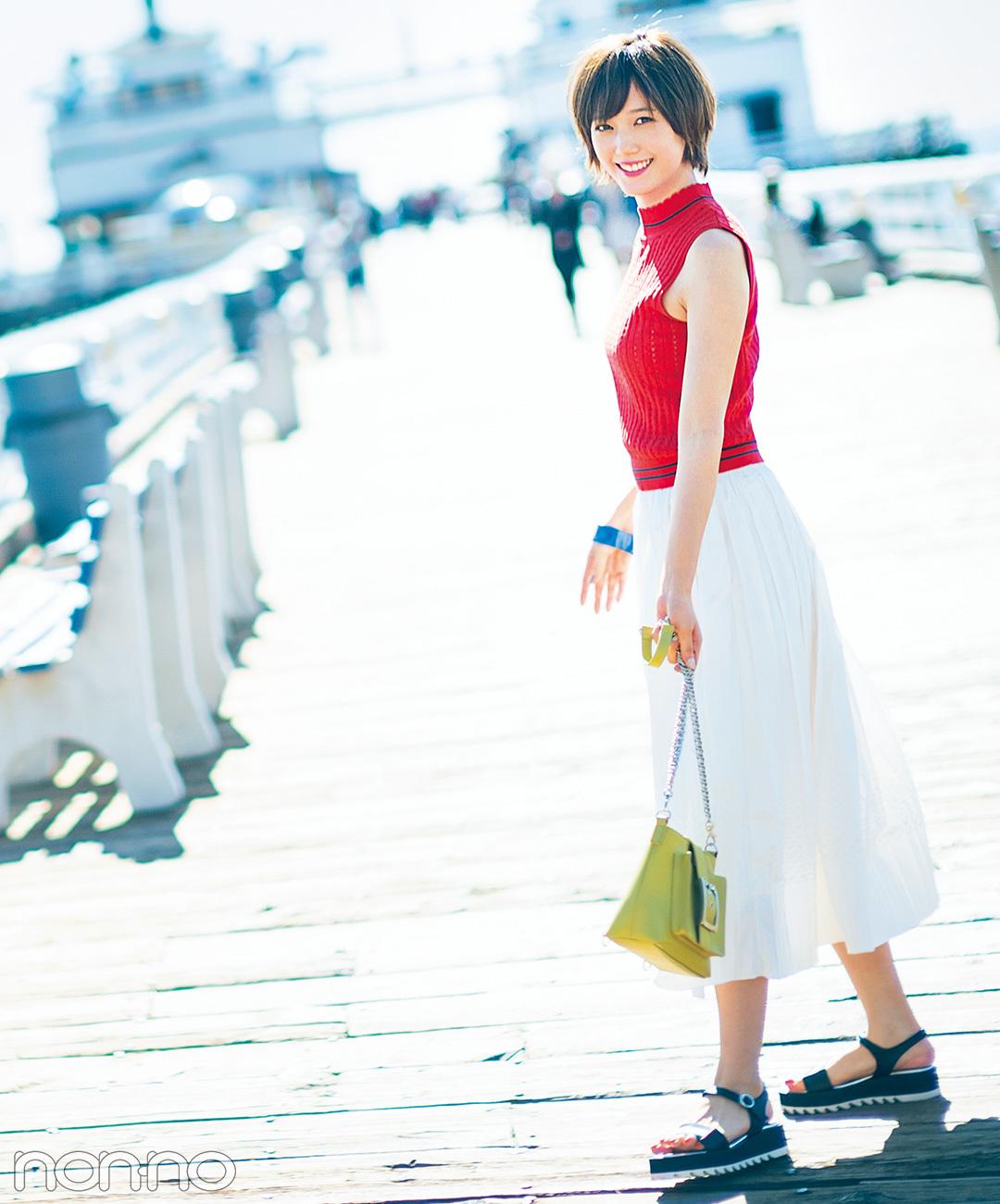 ばっさーはやっぱりかわいい♡ 本田翼のl.a.ファッションストーリー
