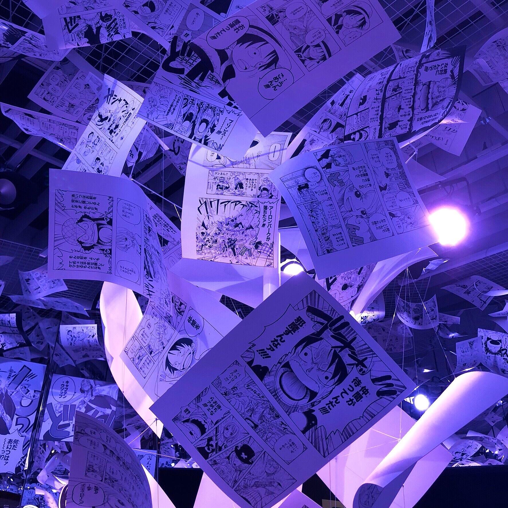 【 第124回❤︎ 】『創刊50周年記念 週刊少年ジャンプ展 VOL.3』☺︎_1_3-4
