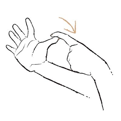 """3. 人さし指や中指などがしびれる """"手根管症候群""""【50代のお悩み・更年期の手指問題】_1_3-3"""