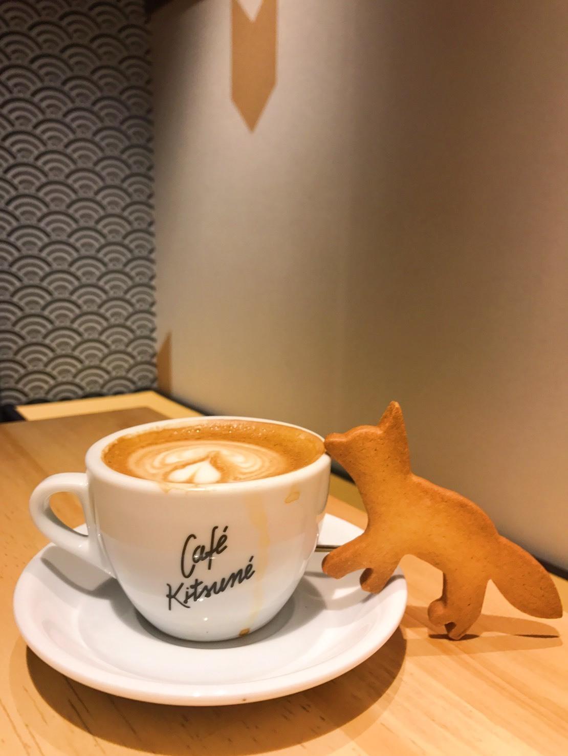 日本の茶室をモチーフに作られた「Cafe KITSUNE」