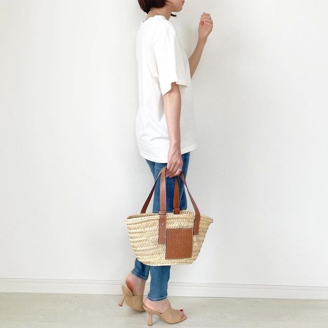 この夏の大本命!プチプラ刺繍ロゴTシャツ【tomomiyuコーデ】_1_5