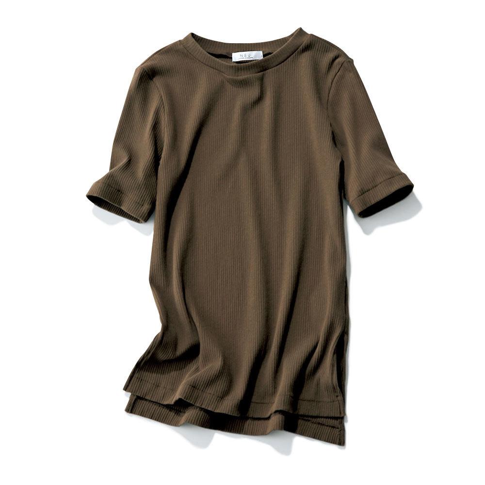 おしゃれプロがリコメンド!スカートに合う「リブTシャツ」_1_1-4