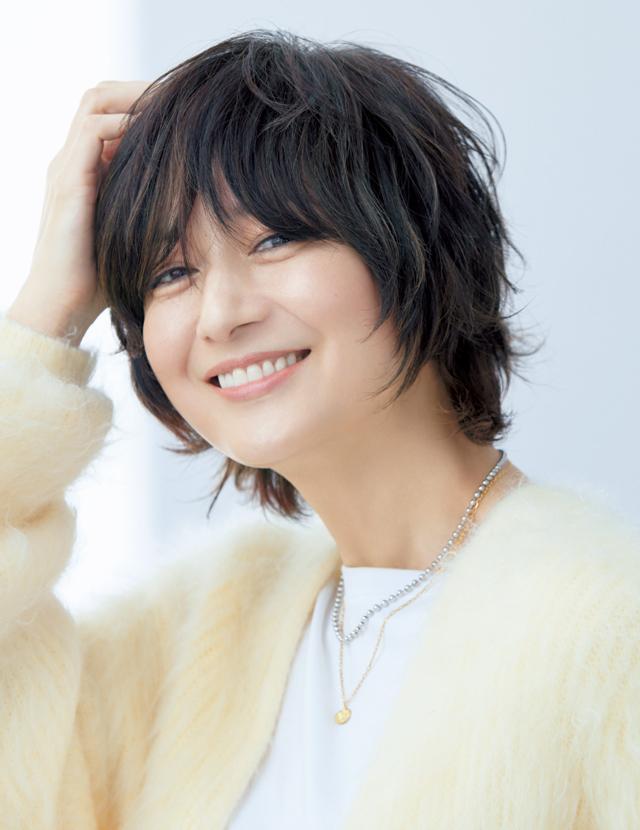 富岡佳子さんのショートスタイル