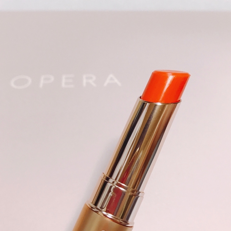 オペラのリップティント N、04のオレンジ