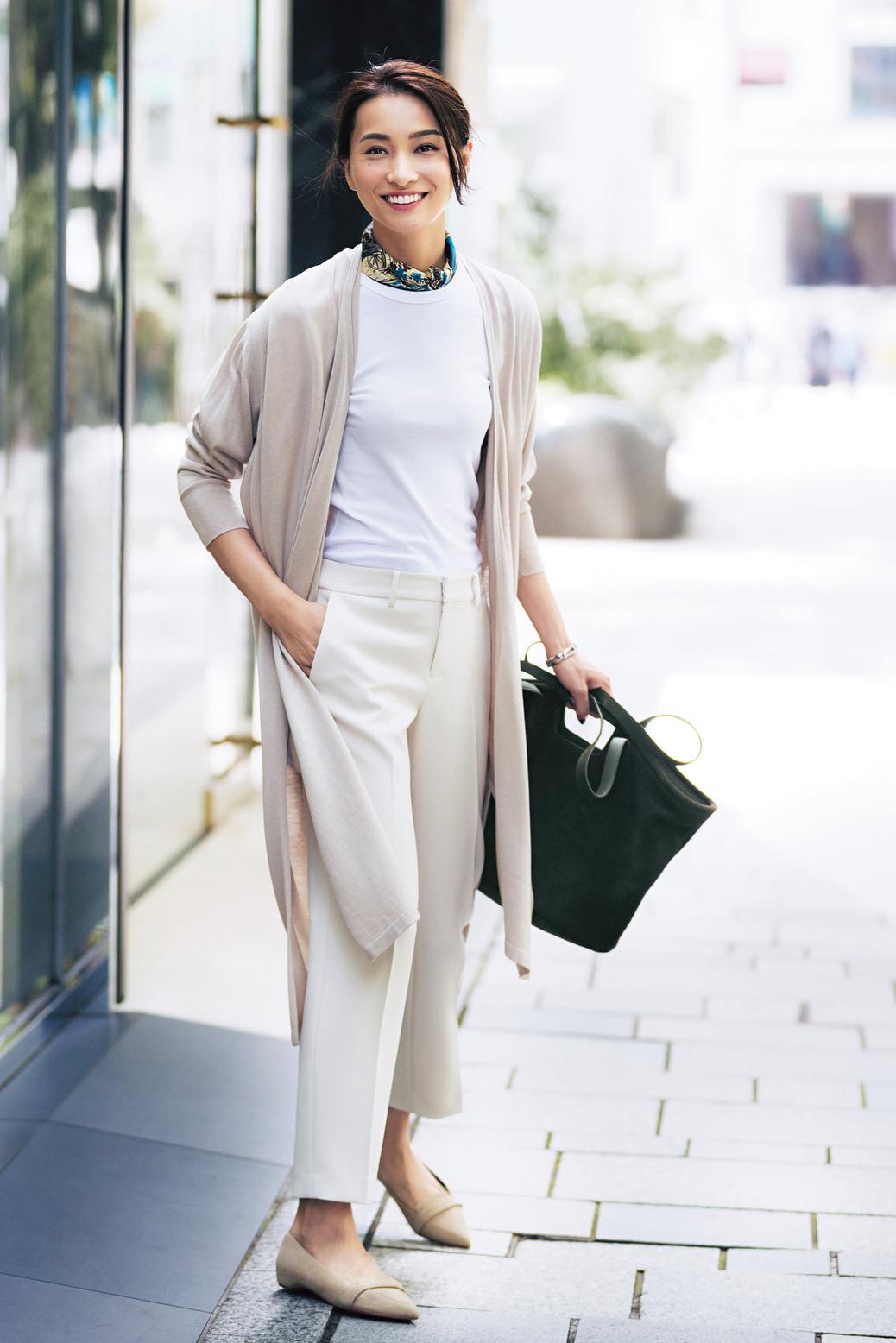 """""""感じのいい仕事服""""のパンツは、女っぷり20%増しコーデで!_1_1"""