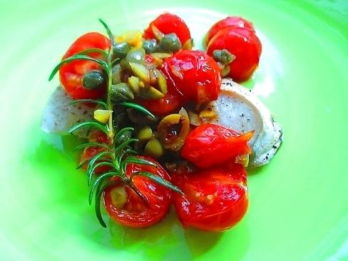 トマト&オリーブオイルで、ブリのグリルが本場の味に!_1_1