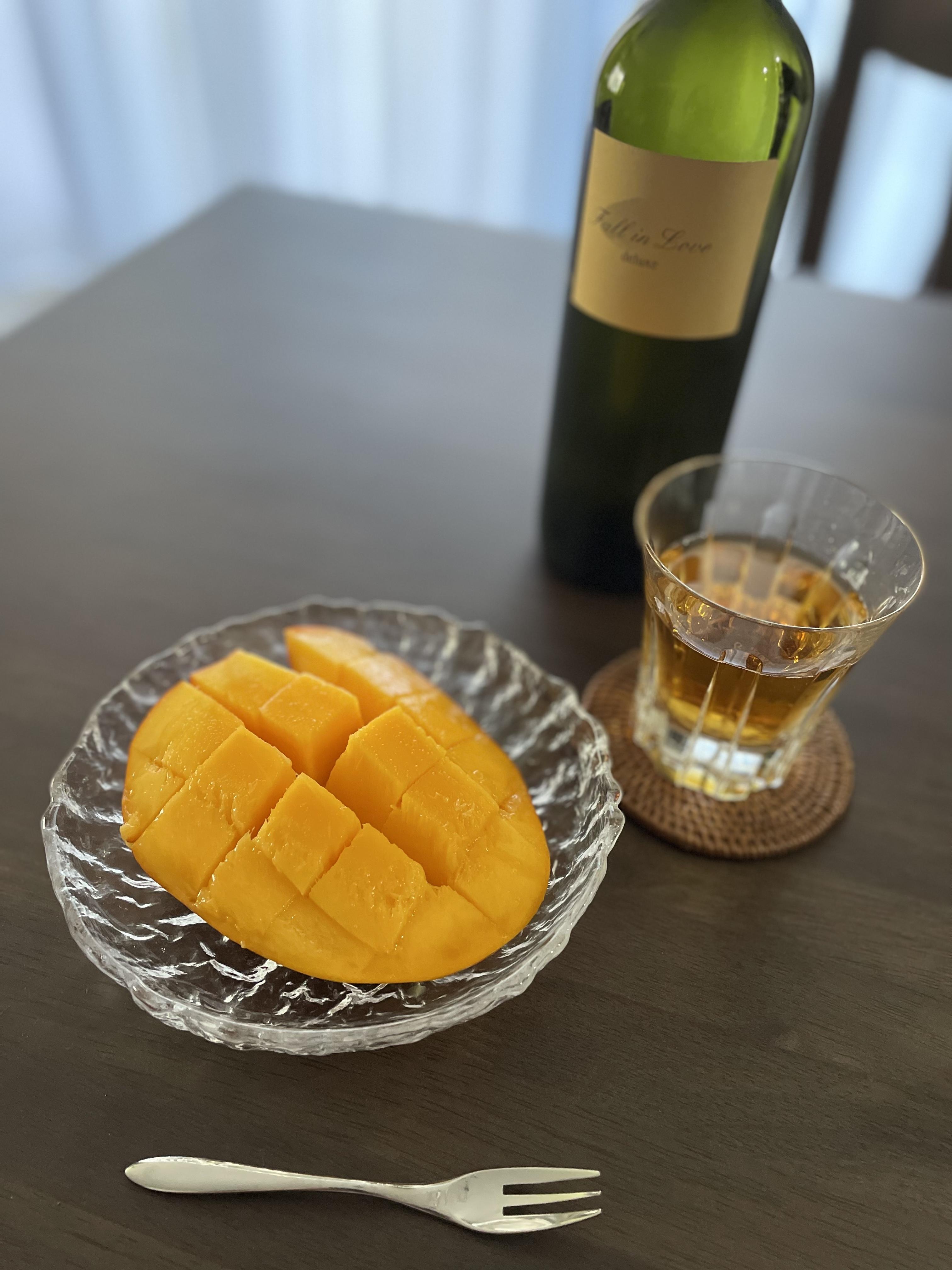 夏のフルーツマンゴー