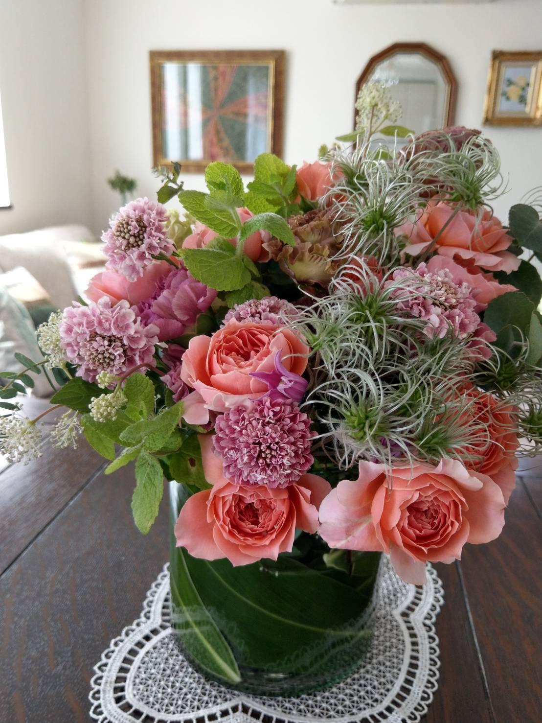 エクラ11月号「日常を素敵に飾る花」_1_7