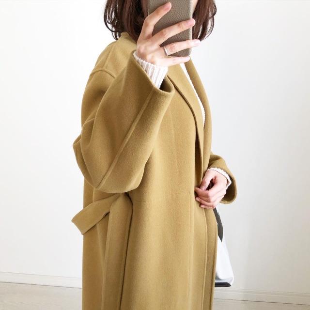 『UNIQLO U』ローゲージニットNATURAL着回しコーデ【tomomiyuコーデ】_1_4
