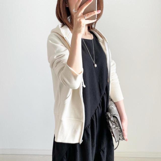 ワンピースはカジュアルに着るのが正解!【tomomiyuコーデ】_1_7