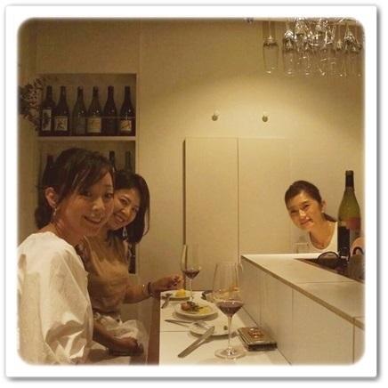 平野由希子さんのワインバーへ集合!8 huit_1_4