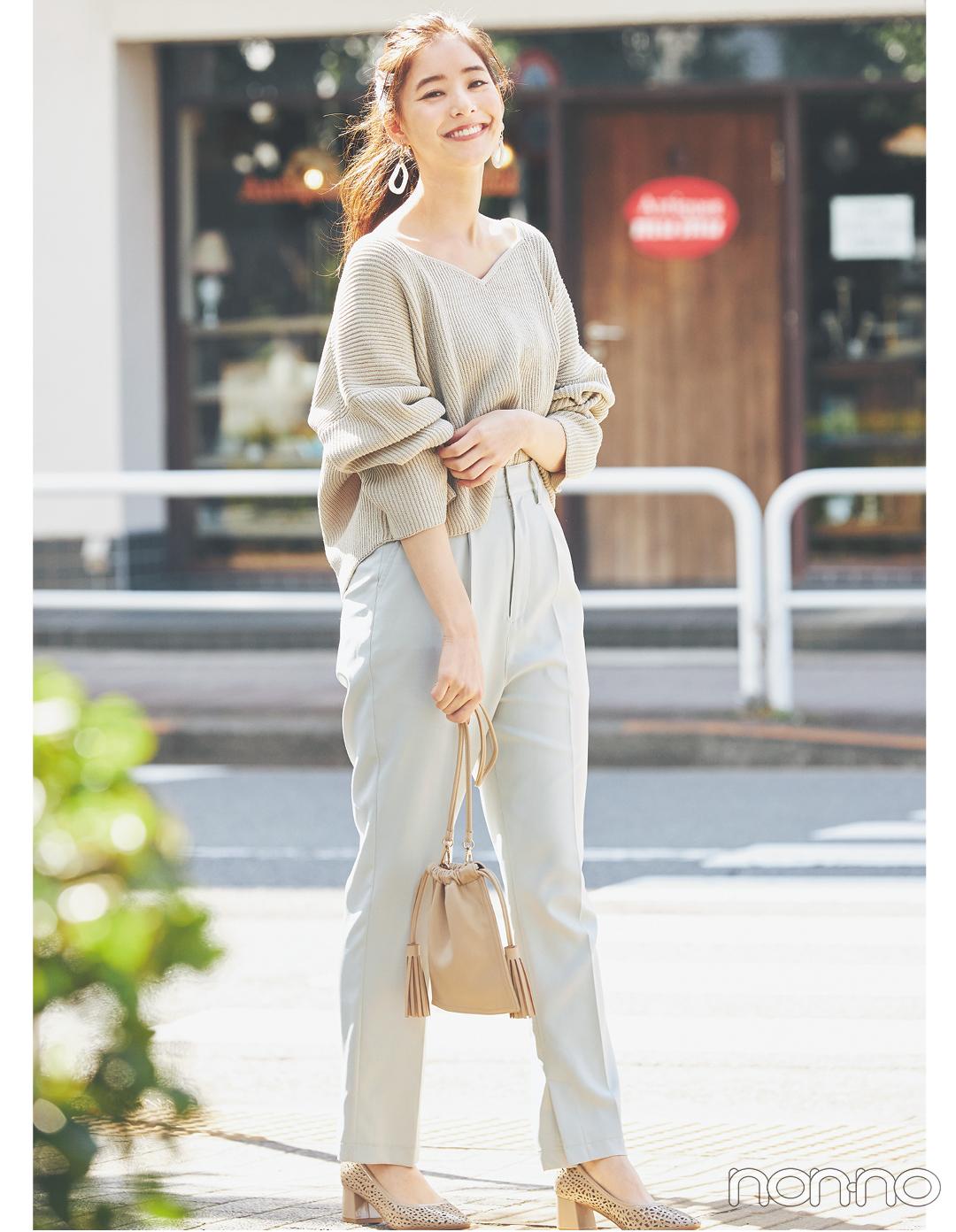 #新木優子のサバフェミニンなオフィスコーデをもっと見る_1_2