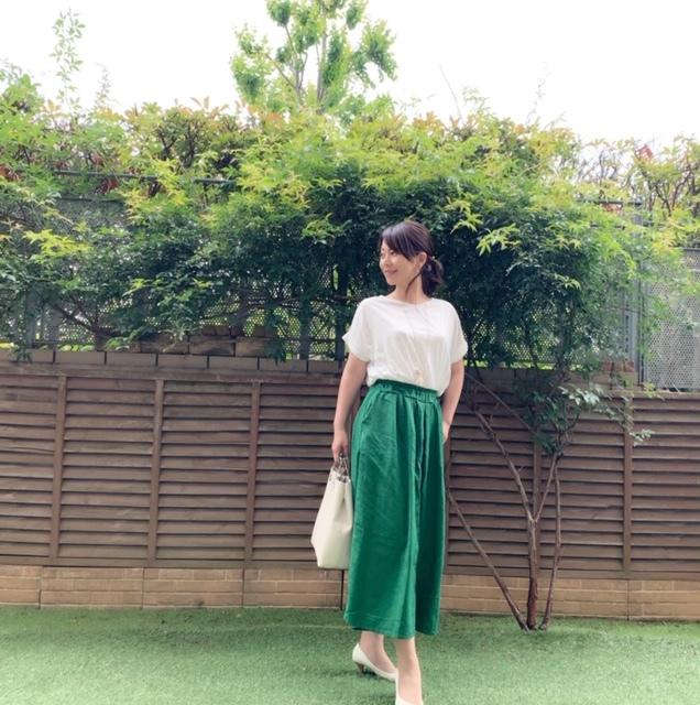 今年トレンドカラーのグリーンが着たい!_1_2