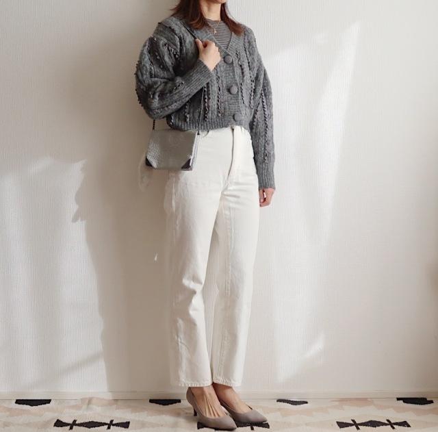 【GU神デニム】の「白」が狙い目!大人も履けるホワイトデニム_1_2