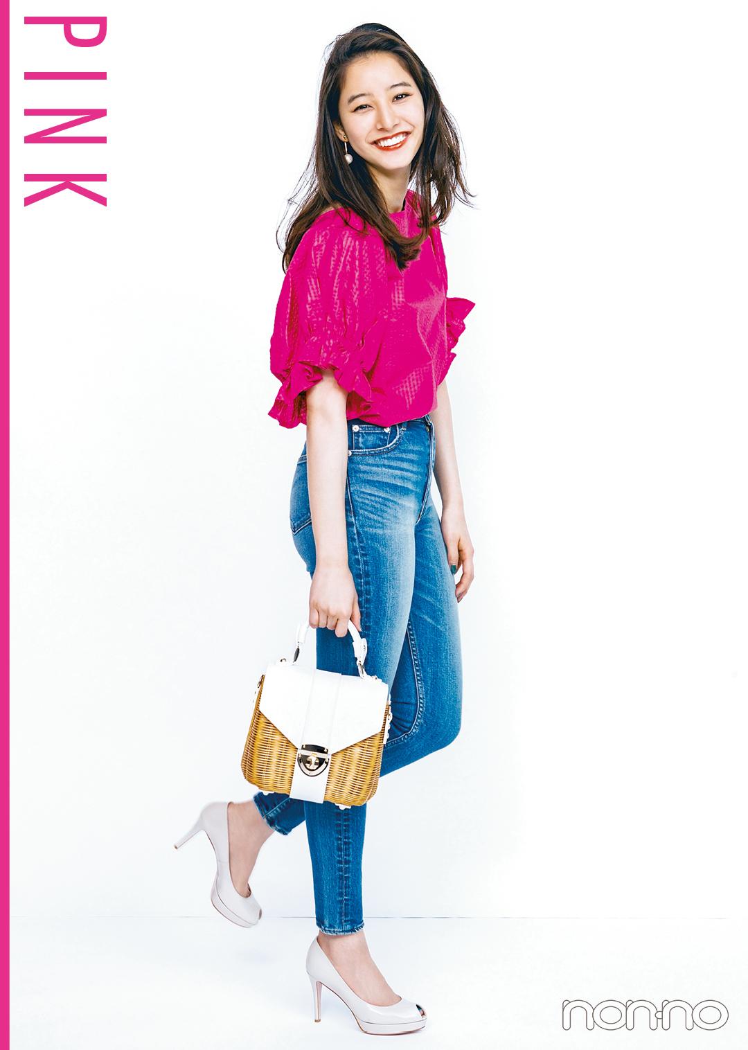 ピンク好きなら、夏は思いっきりヴィヴィッドな発色にトライ!_1_2