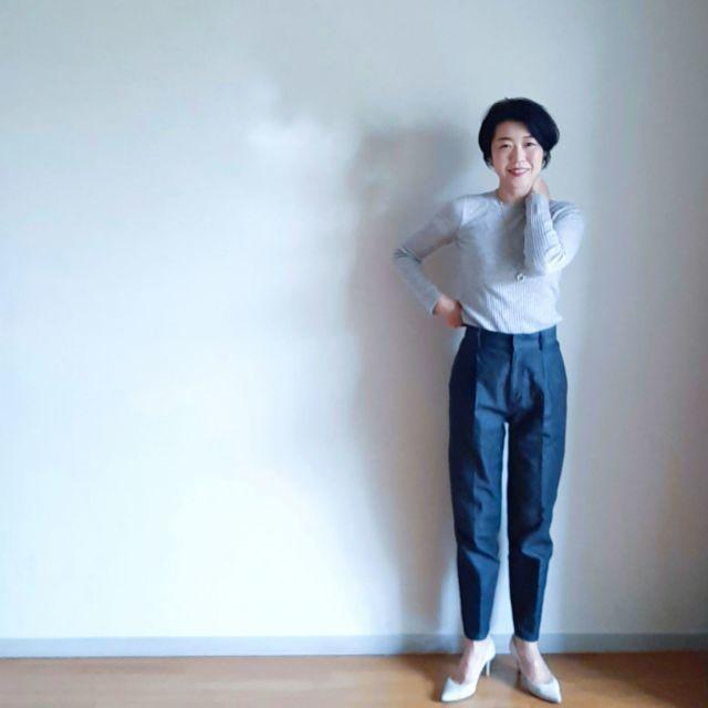 今こそデニムの更新に最適!アラフォーに似合う2021春夏デニムコーデまとめ|40代ファッション_1_22