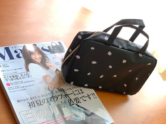 マルティニーク・トラベルコスメminiバッグは大人女子好み♡_1_1