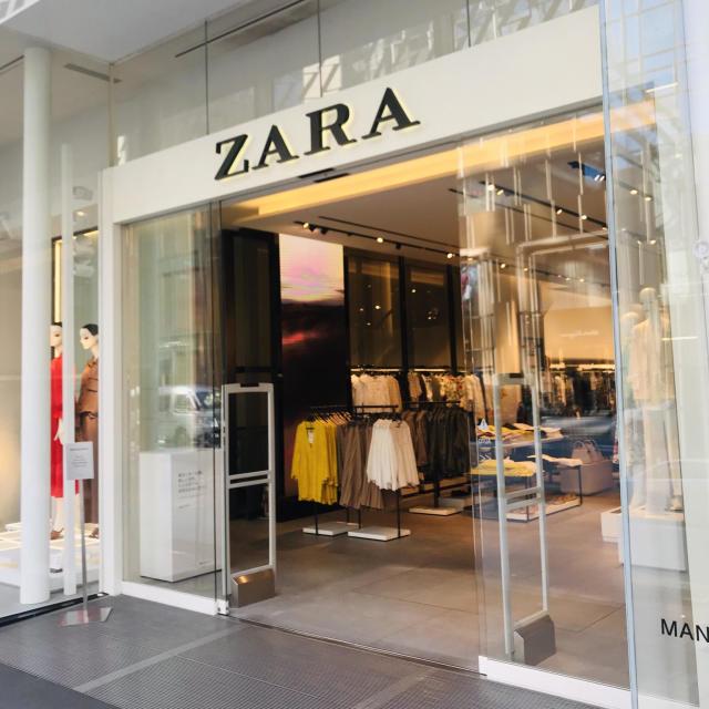 ZARA銀座店