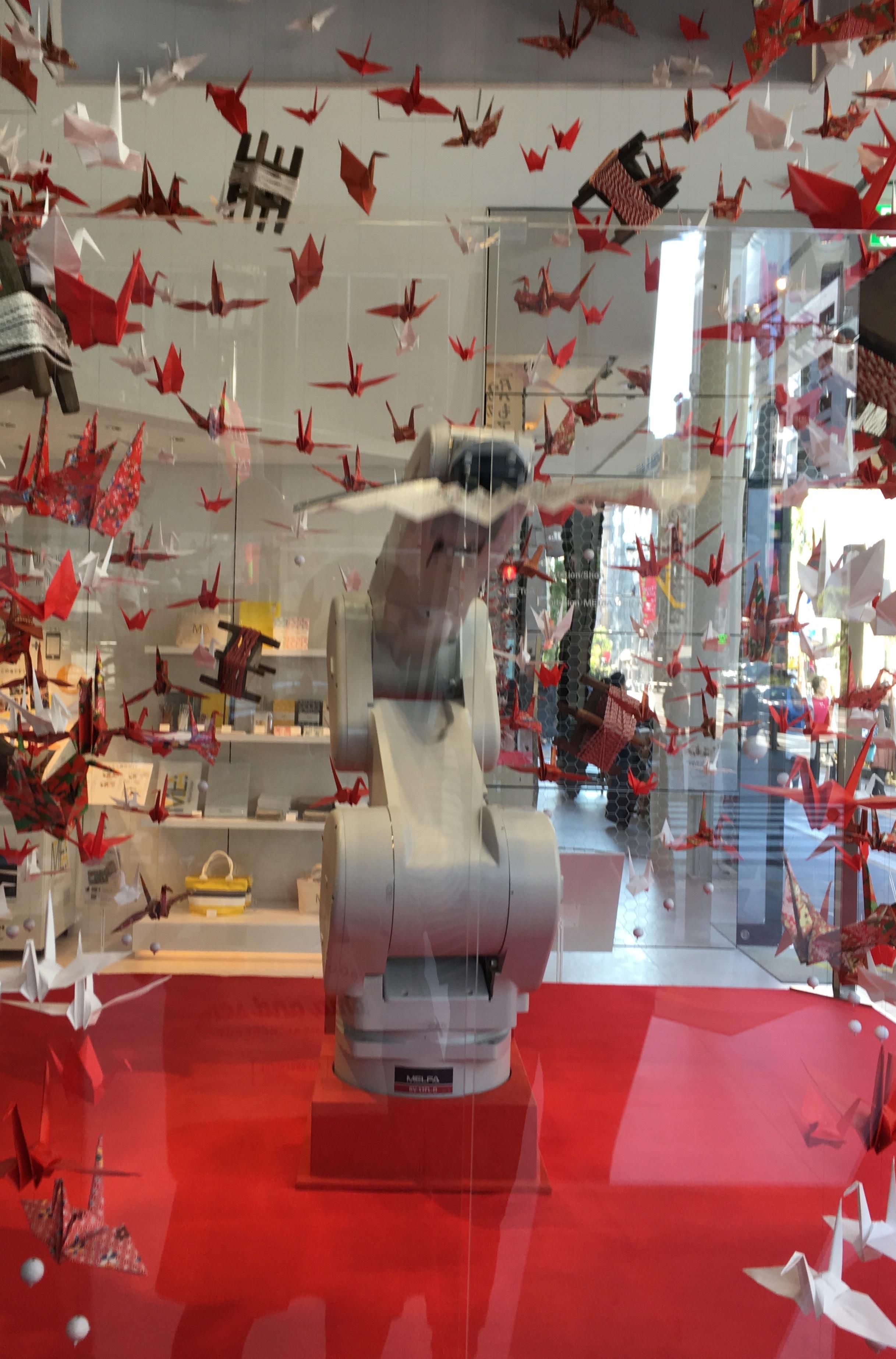 銀座で楽しむ芸術の秋 「ものづくりロボットと創るアートな世界」_1_1