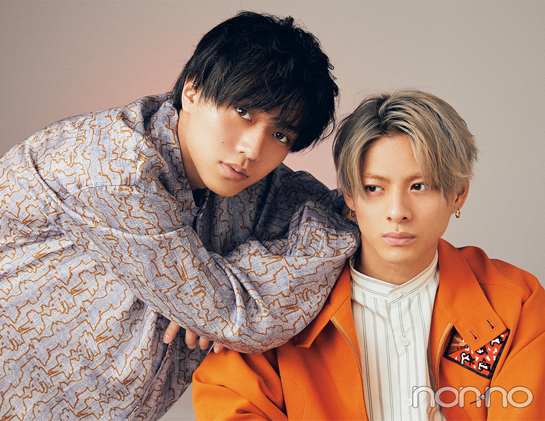 King & Princeの新連載『&(アンド)』から平野紫耀さんと永瀬廉さん