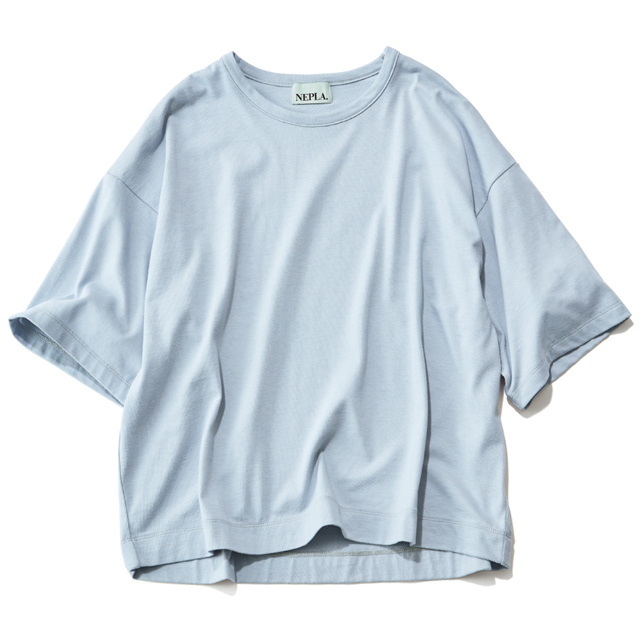 NEPLA. ワイドTシャツ(スカイブルー)