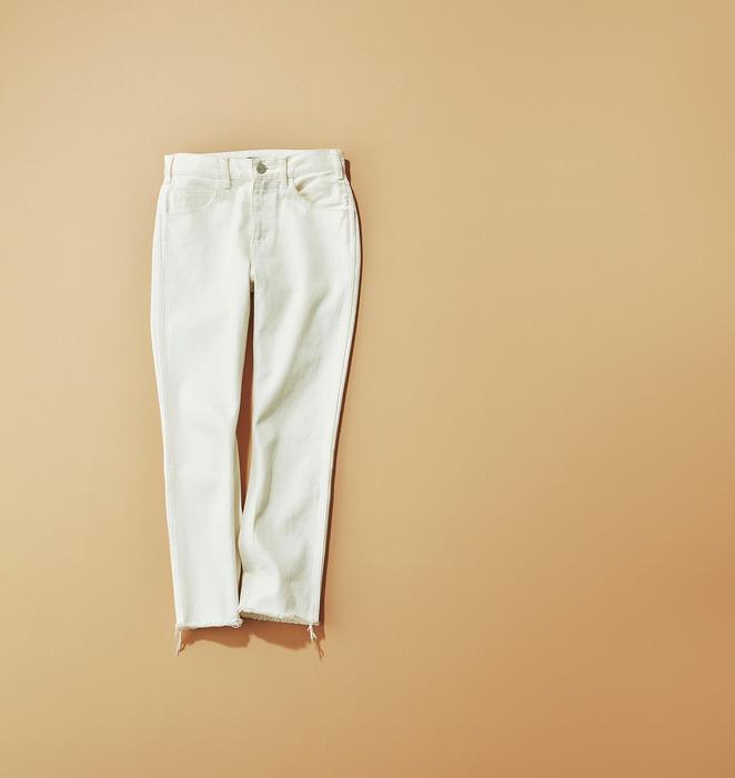 ファッション スタニングルアーのホワイトデニム