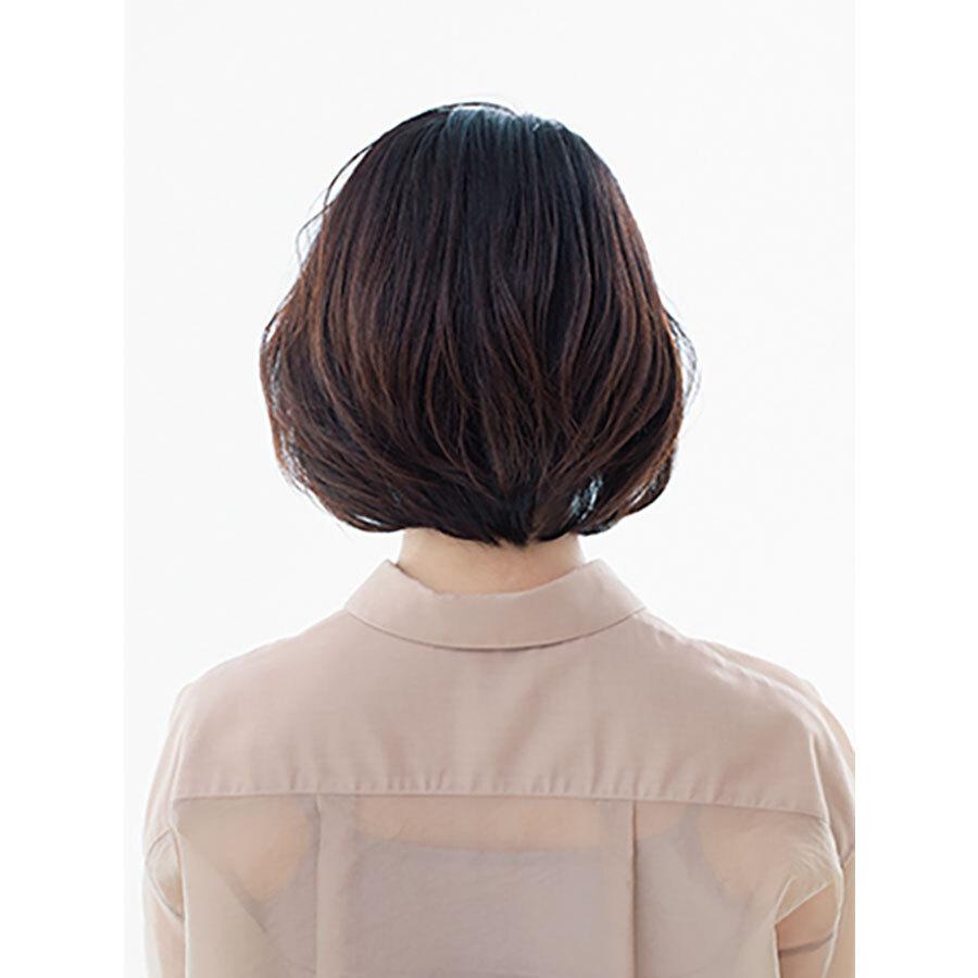 後ろから見た 人気ボブヘアスタイル2位の髪型