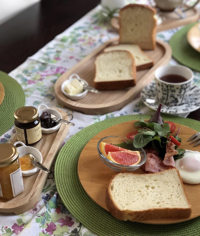美味しい食パンで朝ごはん♪_1_2