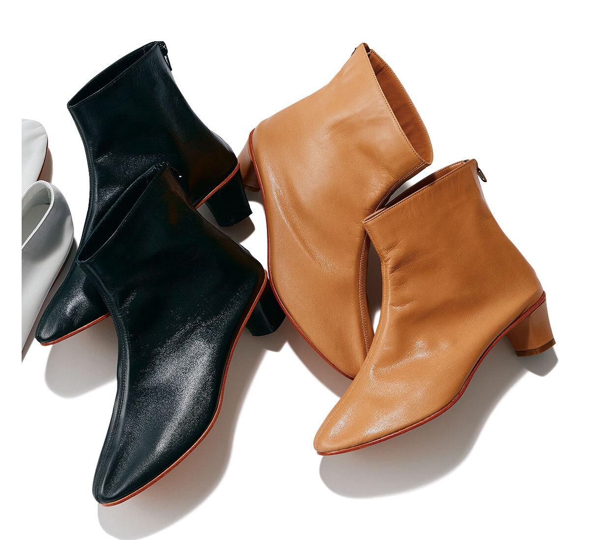 マルティニアーノ  HIGH LEONE ブーツ カラー:CAMEL、BLACK サイズ:36~39 ¥71,500