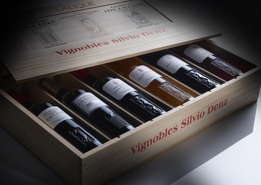 ワイン アソートメント「コフレ ラリック」 6本入り¥130,000 1本¥5,000~