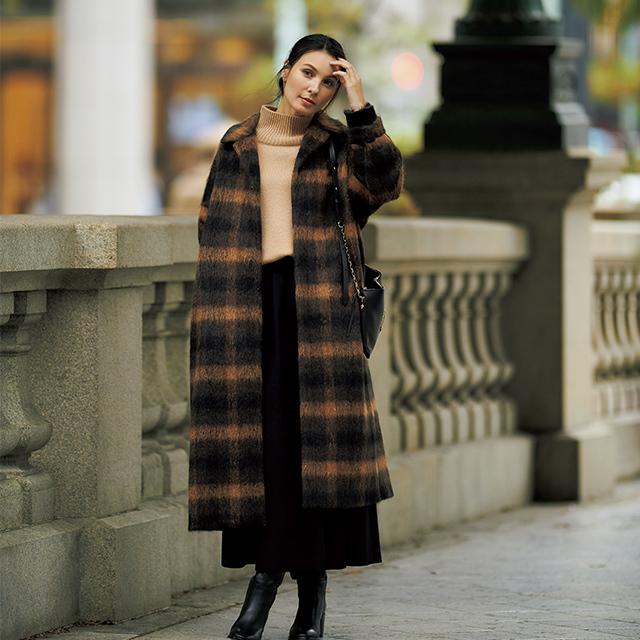 アラフィー女性のこだわりが満載!着こなし豊富な「優秀コート」 五選_1_1-2