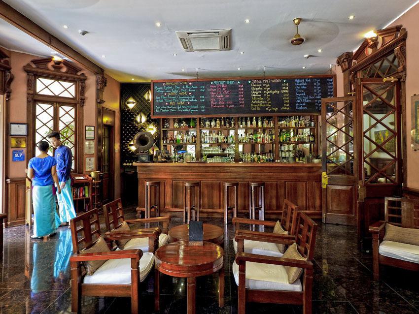 <ミャンマーの旅>古きよき時代へ誘う、英国ビクトリア スタイルのホテル(ヤンゴン-③)_1_3-1
