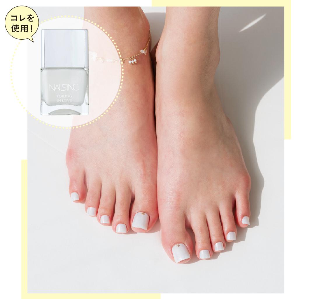 足の素肌をキレイに見せるペディキュアの色、知ってる?_1_1-2