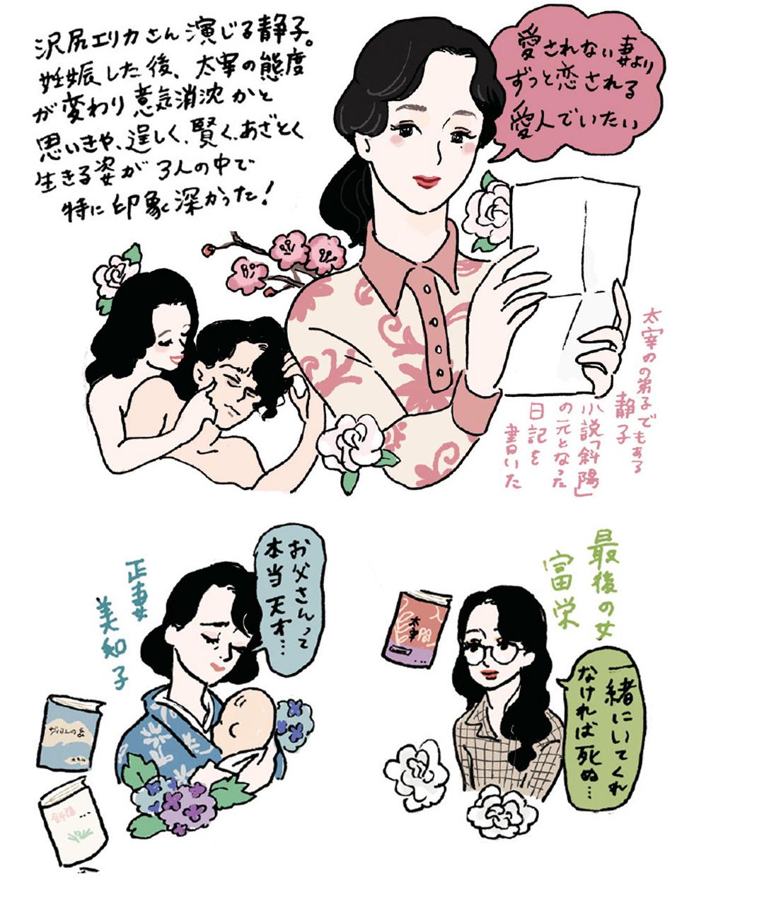 『映画の中の愛すべき女子図鑑』イラストギャラリー_1_10