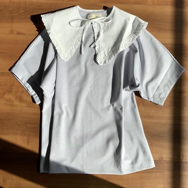 つけ襟コーデのバリエーション♡セーター・Tシャツ・ワンピース‼︎_1_4-2