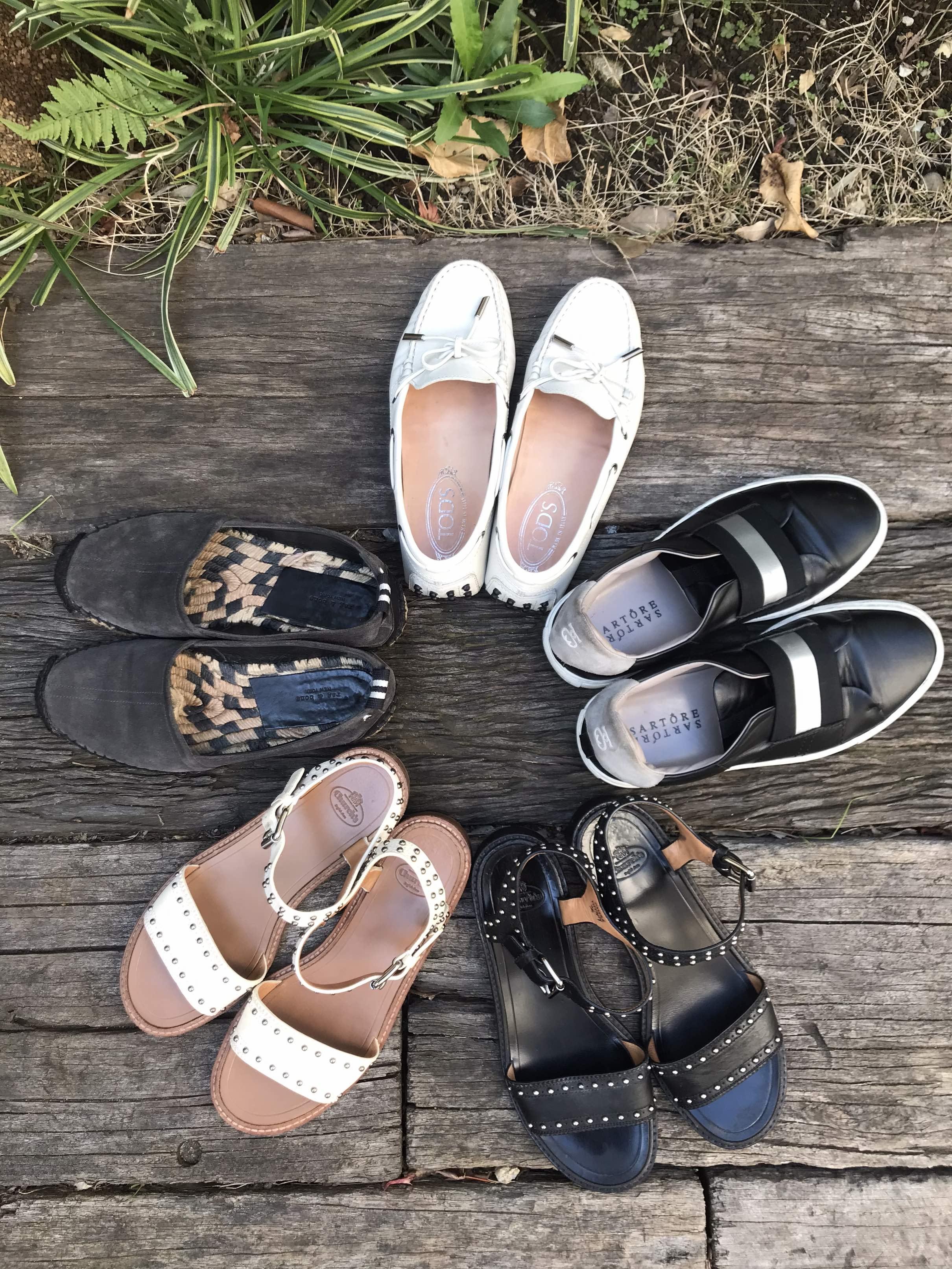 カジュアルにも綺麗目にも、楽でいい靴。_1_1