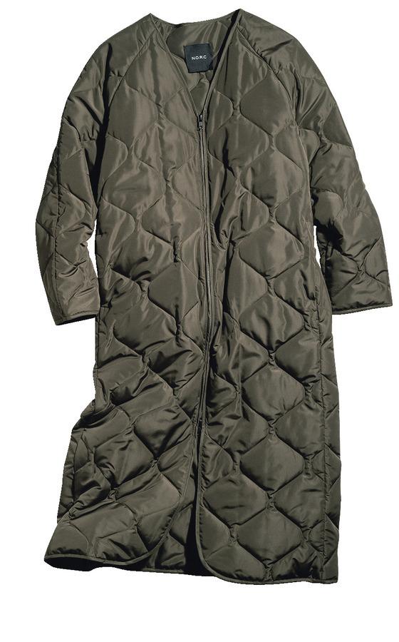 ファッション N.O.R.C のキルティングコート