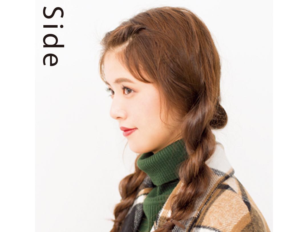 クリスマスのイルミネーションデート♡ ロングはベレー&ヘアアレンジで!_1_2-1